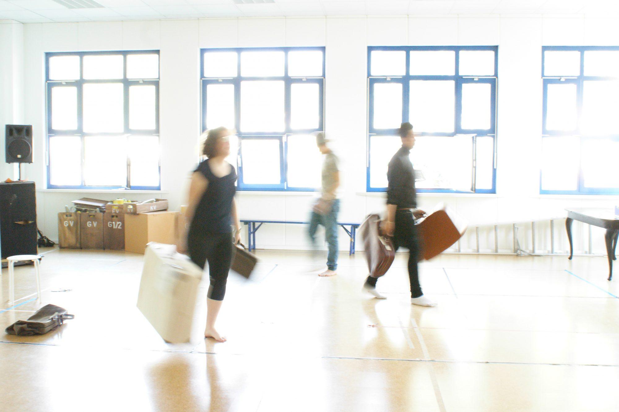 Theater und Orchester Heidelberg: Bahnhof Westside <br>©Laura Holz