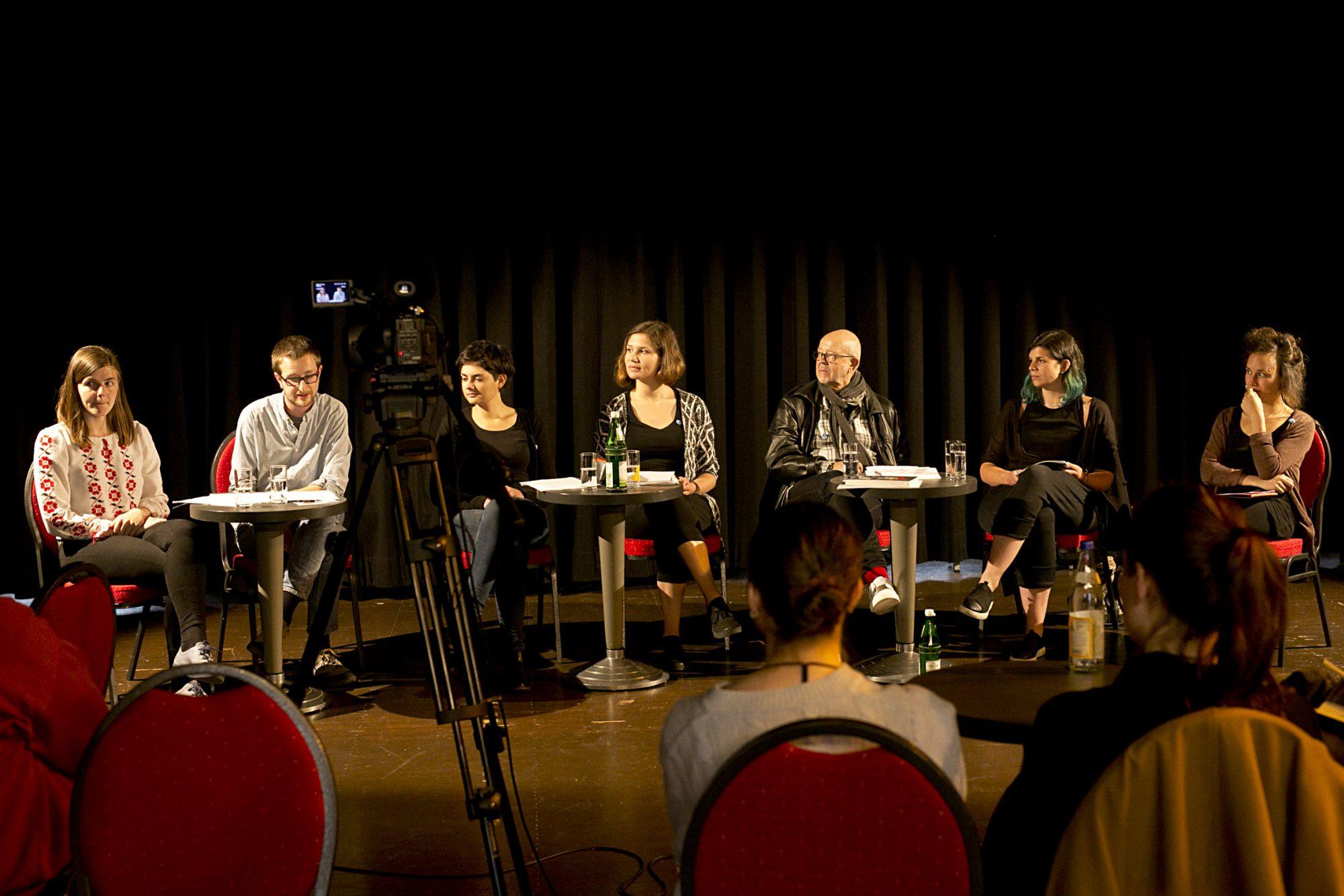 CCT Leipzig: Theater in der Migrationsgesellschaft. Kolloquium von und mit Studierenden der Theaterwissenschaft <br>©David Baltzer
