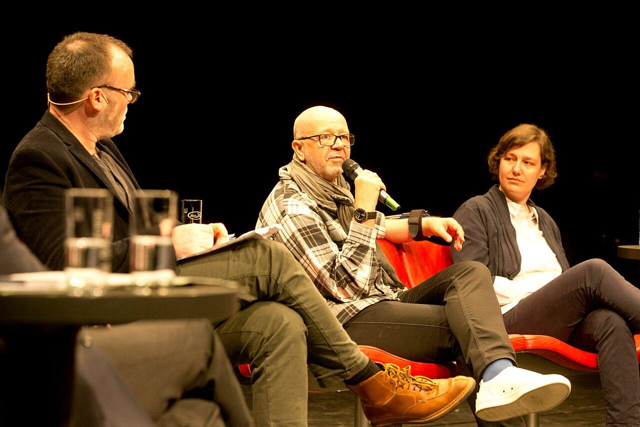 CCT Leipzig: Für ein Theater unter Fremden, Podiumsdiskussion <br>©David Baltzer
